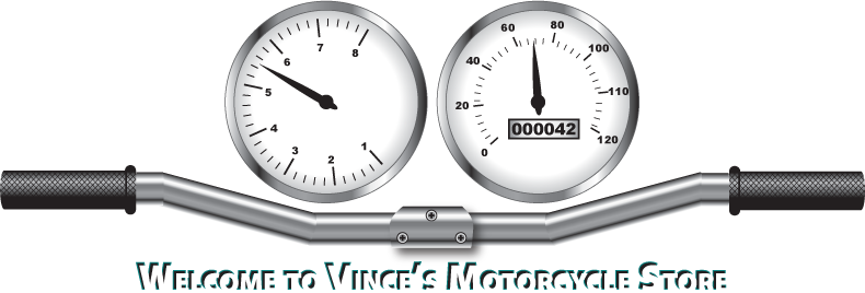 Welcome to Vince's Motorcycle Store